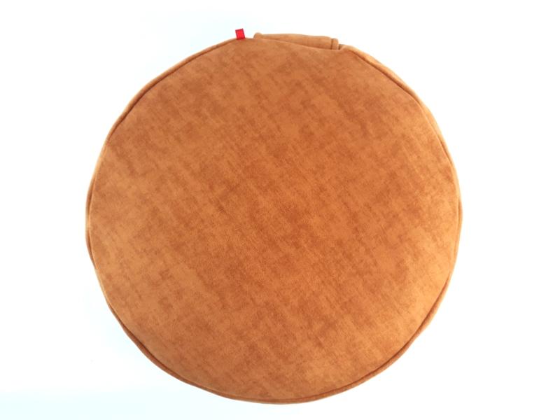 Meditacijski jastuk ručno izrađen prilagođen korisniku za lotus, polulotus ili klečeći položaj