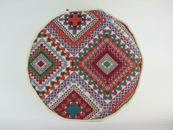 Meditacijski jastuk ručno izrađeni prilagođen korisniku za lotus, polulotus ili klečeći položaj