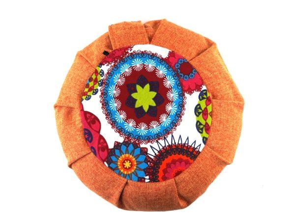 Meditacijski jastuk Petra narančasti