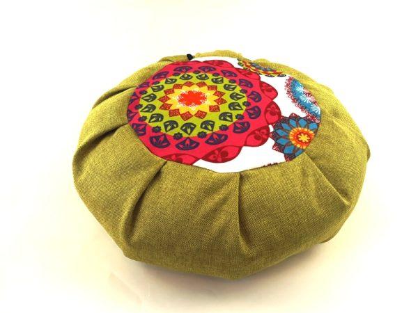 Zafu Petra zeleni meditacijski jastuk