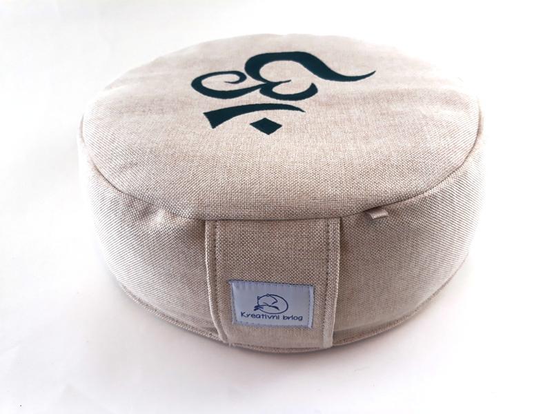 OM meditacijski jastuk