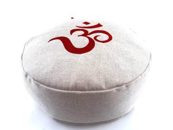 Zen OM bež meditacijski jastuk