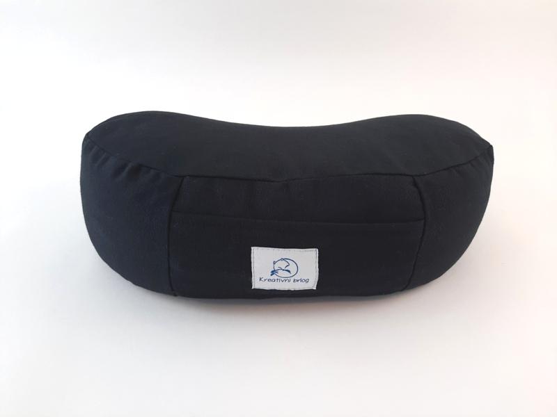 RETREAT Crni meditacijski jastuk