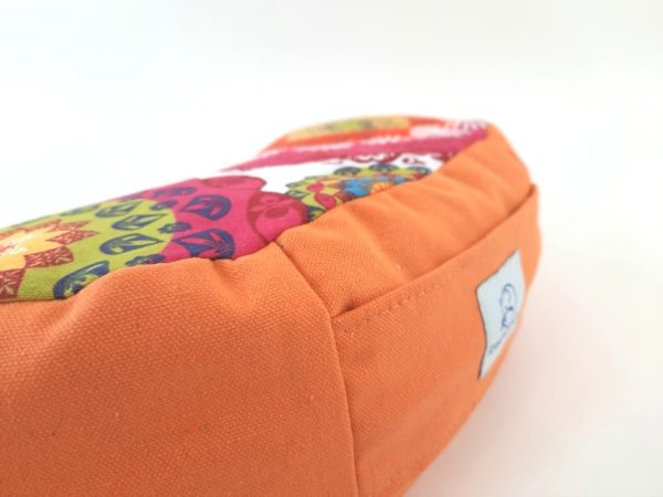 Retreat Petra narančasti meditacijski jastuk