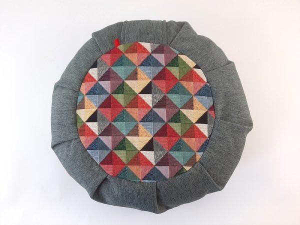 Medicijski jastuk LUki zafu sivi