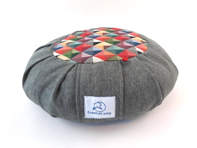 Zafu meditacijski jastuk