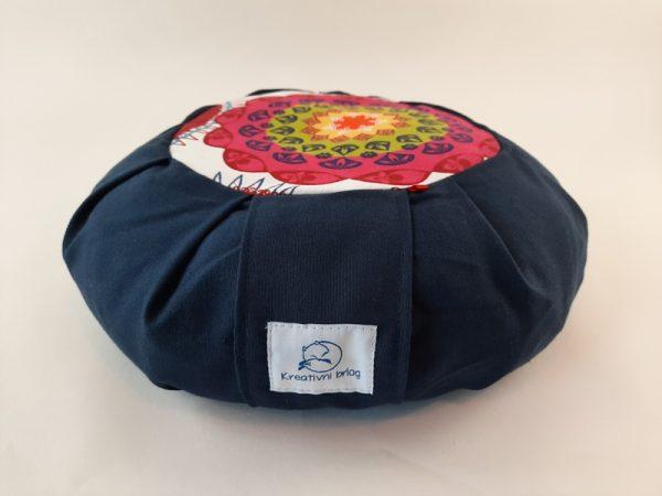 Petra plavi meditacijski jastuk