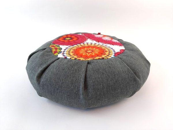 Zafu Petra sivi jastuk za meditaciju