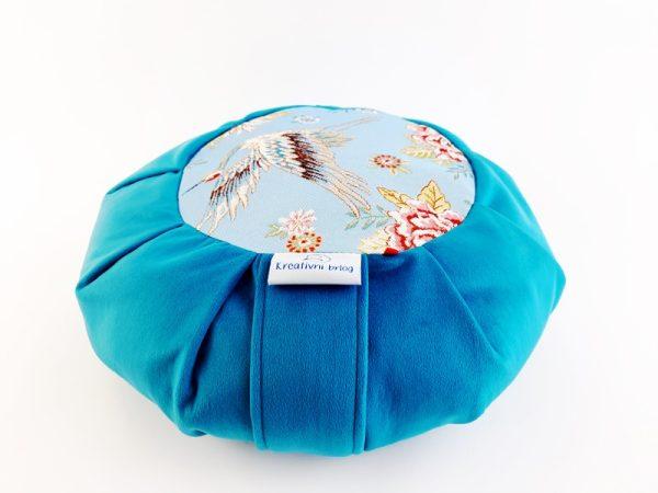 Zafu VITA tirkizni meditacijski jastuk