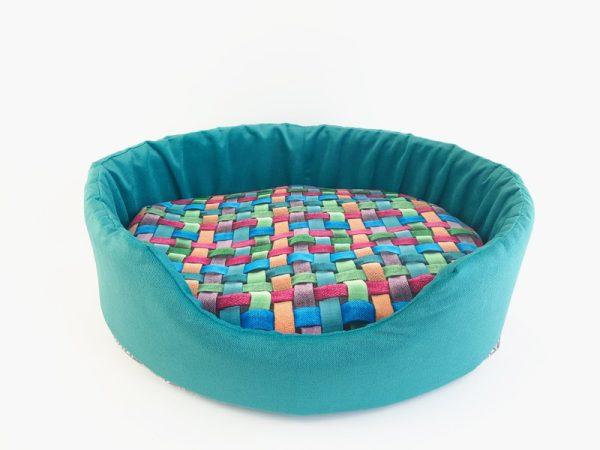 Zdravi jastuk od ljuskica heljde Pixie plavi