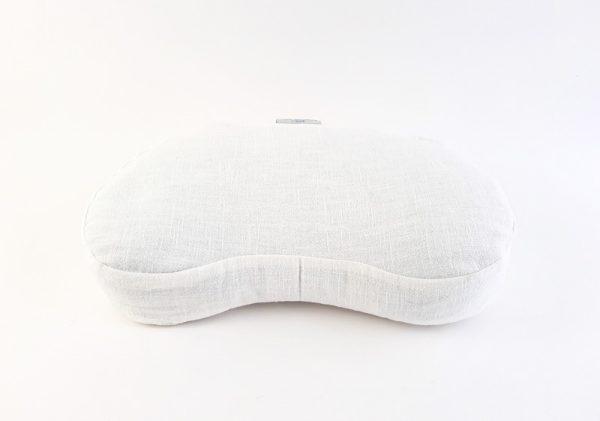 Ivan bijeli Retreat meditacijski jastuk od kuhanog lana